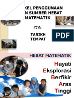 Pengenalan Penggunaan Bahan Sumber Hebat Matematik 2016