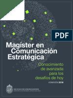Magister Comunicacion Estrategica