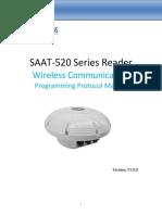 SAAT-520Wireless Communication Programming Development Protocol