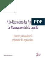 7 Principes Du Smq