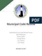Code Review Final Report