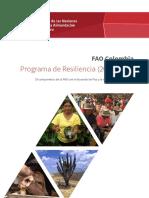 Fao, Resiliencia Colomb 2017