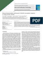 Enhanced Photocatalytic Performance of Bi2WO6 by Graphene Supporter