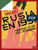 Vallejo, Cesar - Rusia en 1931. Reflexiones Al Pie Del Kremlin [22379] (r1.0)