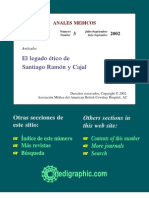 El legado ético de Santiago Ramón y Cajal