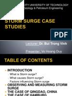 Storm Surge Case Studies Project