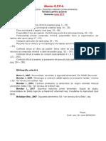 Tematica Ex EFPA Iunie 2017
