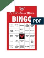 FDRLST Christmas Movie Bingo #3