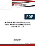 White Paper PRACH Preamble Detection and Timing Advance Estimation for ...