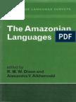 The Amazonian Languages Cambridge Language Surveys