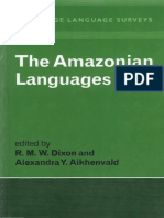 The Amazonian Languages Cambridge Language Surveys