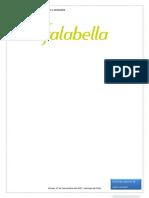 Investigacion de Mercados Falabella Chile