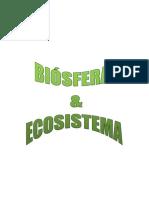 Biósfera y Ecosistema