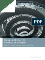 Energy Efficiency in Building Automation SIEMENS