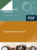 hybrid car presentation