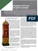 Vlaamse Stam 2015-4 Ferrotypie - Peter Eyckerman