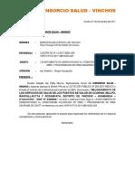 Carta 016 Vinchos