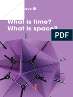What is Time What is Space