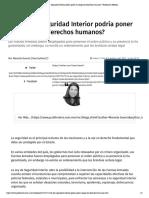 11-12-17 ¿La Ley de Seguridad Interior podría poner en riesgo los derechos humanos_ _ Publimetro México