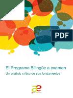 Informe Bilinguismo 2017 Low