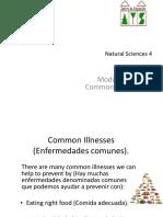 Unit 3 4º Common Illnesses PDF
