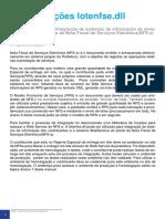 NFSE Manual de Envio de Arquivo