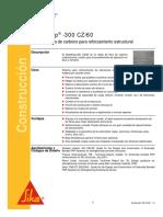 Tejido Fibra Carbono Reforzamiento Estructural Sikawrap 300 Cz60