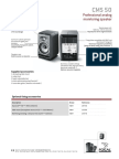 CMS 50 Specification Sheet 2961