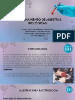 almacenamiento de muestras biológicas