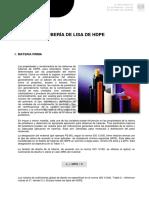 Especificaciones Tecnicas ISO Hdpe