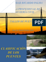 Clasificacion de Los Puentes
