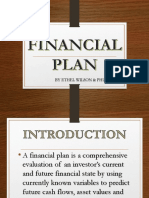 financial plan presentation -eportfolio