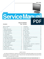 Aoc Service Manual-hp l1740 Nt68663mefg Tpv Power a02 1947
