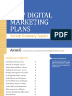 Ascend2 2017 Digital Marketing Plan Survey Summary Report 161208