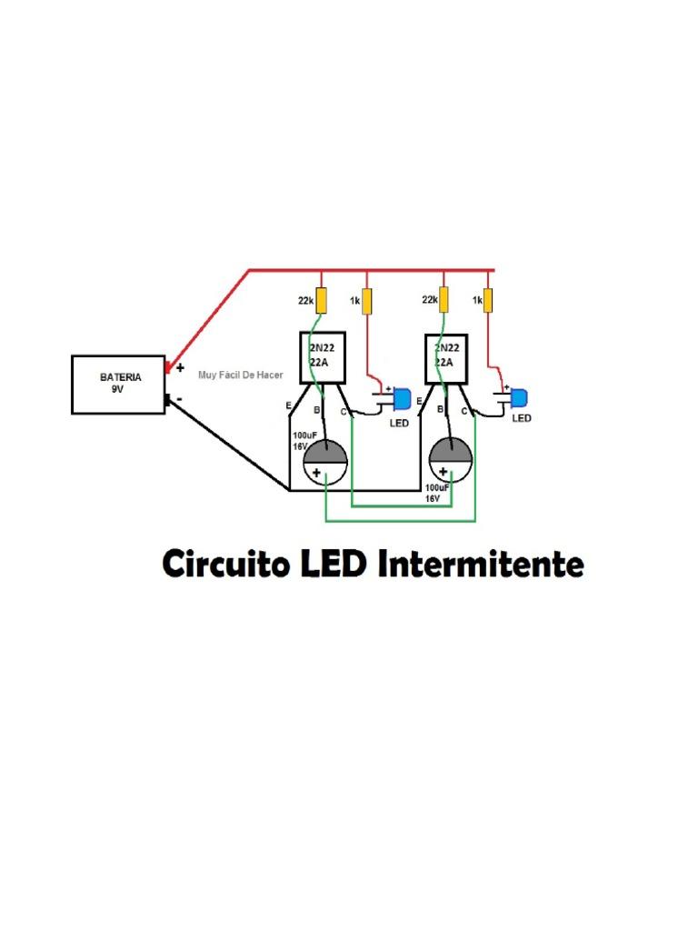 Circuito Led : Circuito led intermitente.pdf