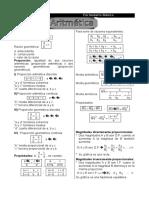 1.Mini Formulario Aritmética