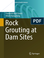(Professional Practice in Earth Sciences) Ewert, Friedrich-Karl_ Hungsberg, Ulrich-Rock Grouting at Dam Sites-Springer (2018)