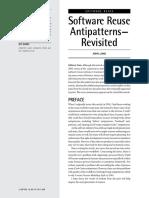 ASQ SQP Software-reuse-Antipatterns-revisited 2017 SET 12P