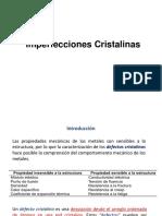 4. Tema 4 Inperfecciones Cristalinas