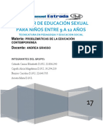 Taller de Educación Sexual Para Niños Entre 8 y 13 Años (2)