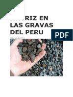 Matriz en Las Gravas Del Peru