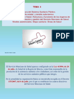 TEMA 4 - Estructura Sanitaria Murcia