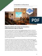 Juristasconfuturo.com-Crónica Del Legal Hackathon de Barcelona.pdf565656