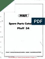 Pfaff 34