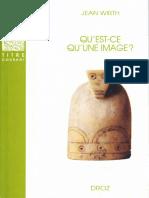 (Droz en Poche) Wirth J.-qu'Est-ce Qu'Une Image_-Librairie Droz (2013) 2