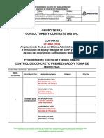 Procedimiento - Control de Concreto Premezclado