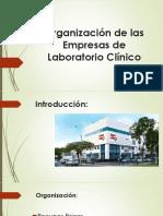 Organización de Las Empresas de Laboratorio Clínico
