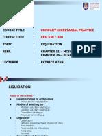 Cgr660 10 Liquidation