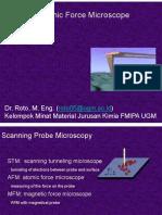 Atomic Force Microscopy WS