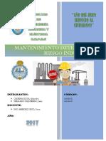 Cap 5. Mantenimiento Detectivo y Riesgo Industrial